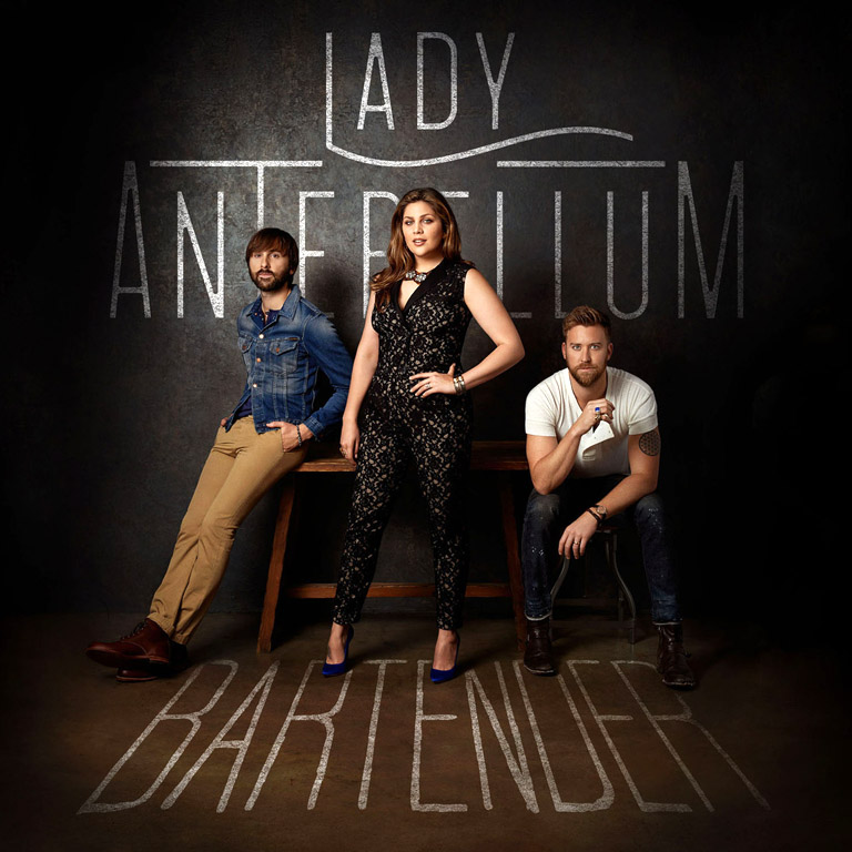 "LADY ANTEBELLUM RELEASES LEAD SINGLE  ""BARTENDER"" OFF UPCOMING FIFTH STUDIO ALBUM"