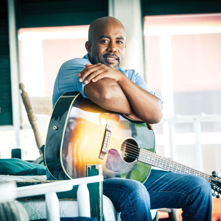 Win an autographed guitar from Darius Rucker