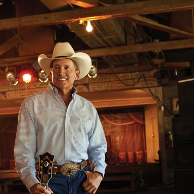 GEORGE STRAIT NAMED TEXAS' MUSICIAN OF THE YEAR