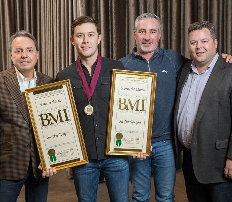 SCOTTY McCREERY MIA FROM BMI AWARDS; ACCEPTS 1 MONTH LATER