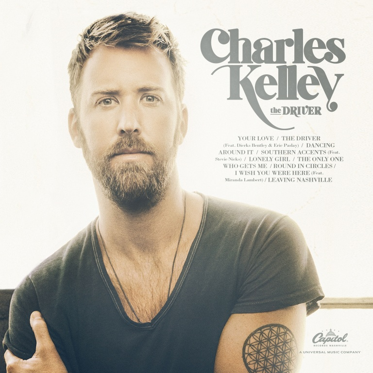 CHARLES KELLEY SETS RELEASE DATE FOR FIRST-EVER SOLO ALBUM, THE DRIVER