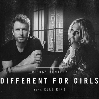 """DIERKS BENTLEY REVEALS A NEW LAYER OF RELATIONSHIP ALBUM BLACK  WITH THE RELEASE OF """"DIFFERENT FOR GIRLS"""" FEATURING ELLE KING"""