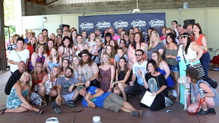 Brothers Osborne Inaugural Fan Club Party at CMA Fest