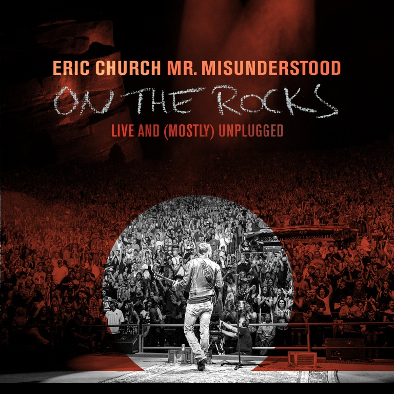 Eric Church to Release Mr. Misunderstood On the Rocks Live & (Mostly) Unplugged Exclusively with Walmart Nov. 4