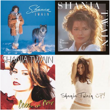 SHANIA TWAIN CATALOG ON VINYL FOR THE FIRST TIME EVER – AVAILABLE OCT. 14