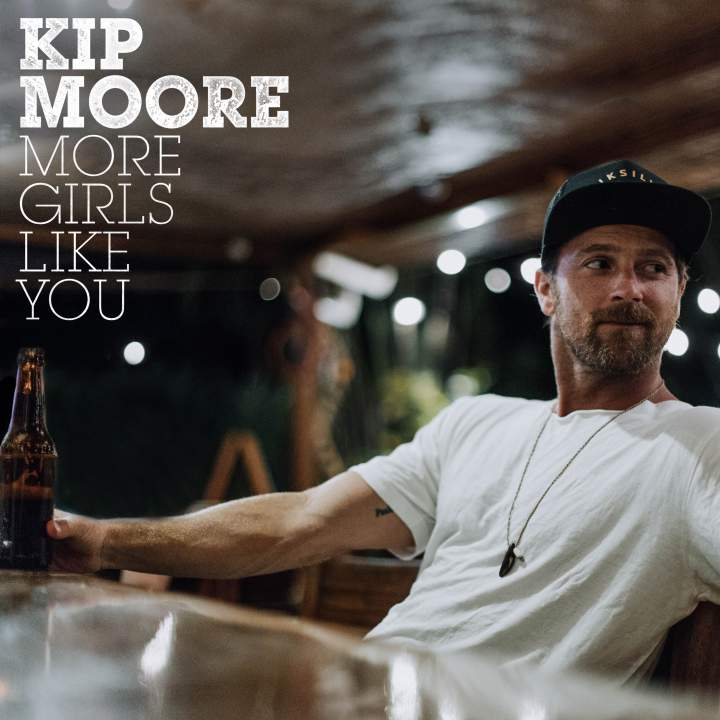 "KIP MOORE SCORES 4TH NO.ONE WITH SUMMER ANTHEM ""MORE GIRLS LIKE YOU"""