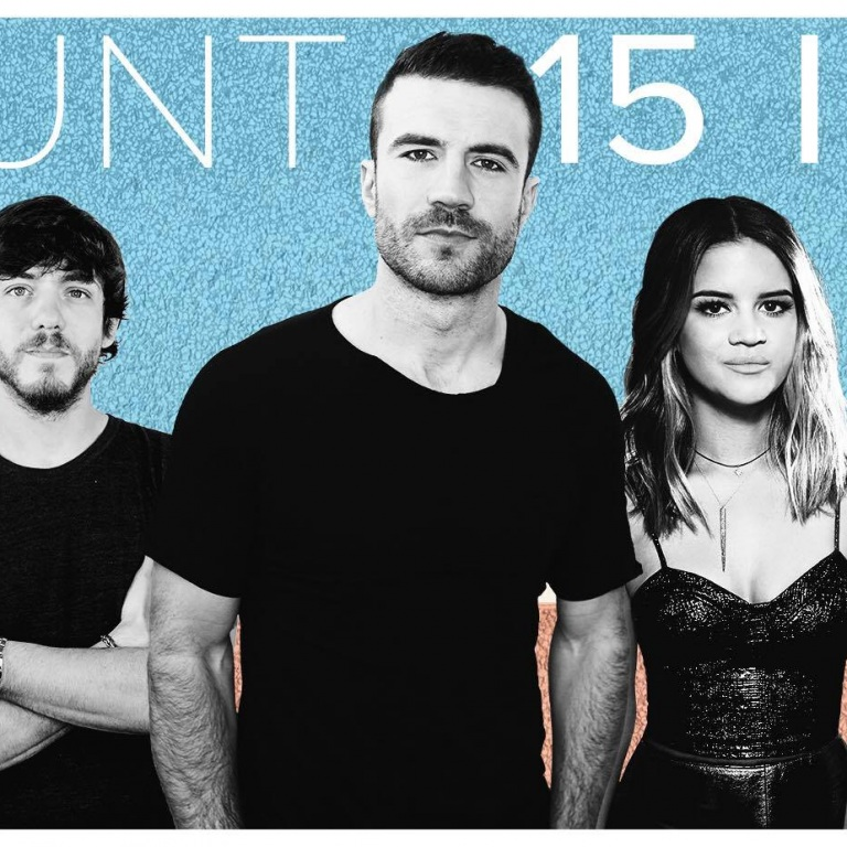 WIN 2 TICKETS TO SEE SAM HUNT LIVE