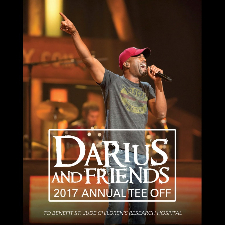 "DARIUS RUCKER SUPPORTS ST. JUDE CHILDREN'S RESEARCH HOSPITAL®  WITH EIGHTH ANNUAL ""DARIUS AND FRIENDS"" BENEFIT CONCERT"