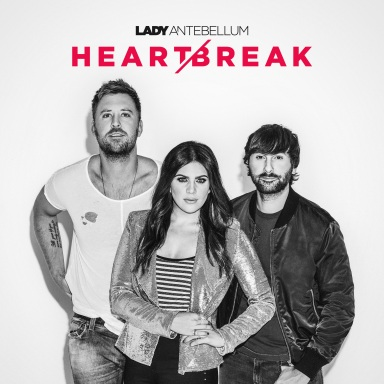 LADY ANTEBELLUM'S HEART BREAK PULLS THE TOP SPOT ON THE BILLBOARD COUNTRY ALBUMS CHART, MARKING FIFTH NO. ONE DEBUT