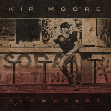 "KIP MOORE'S ""MOST COMPLETE, COHESIVE DECLARATION"" SLOWHEART IS AVAILABLE EVERYWHERE TODAY"