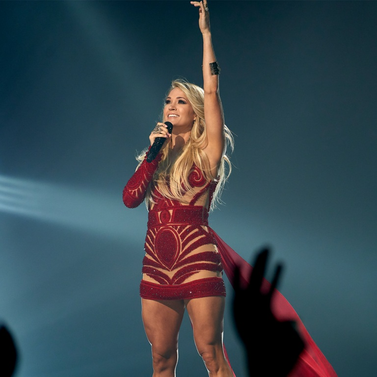 CARRIE UNDERWOOD CELEBRATES TWO NUMBER 1'S TODAY