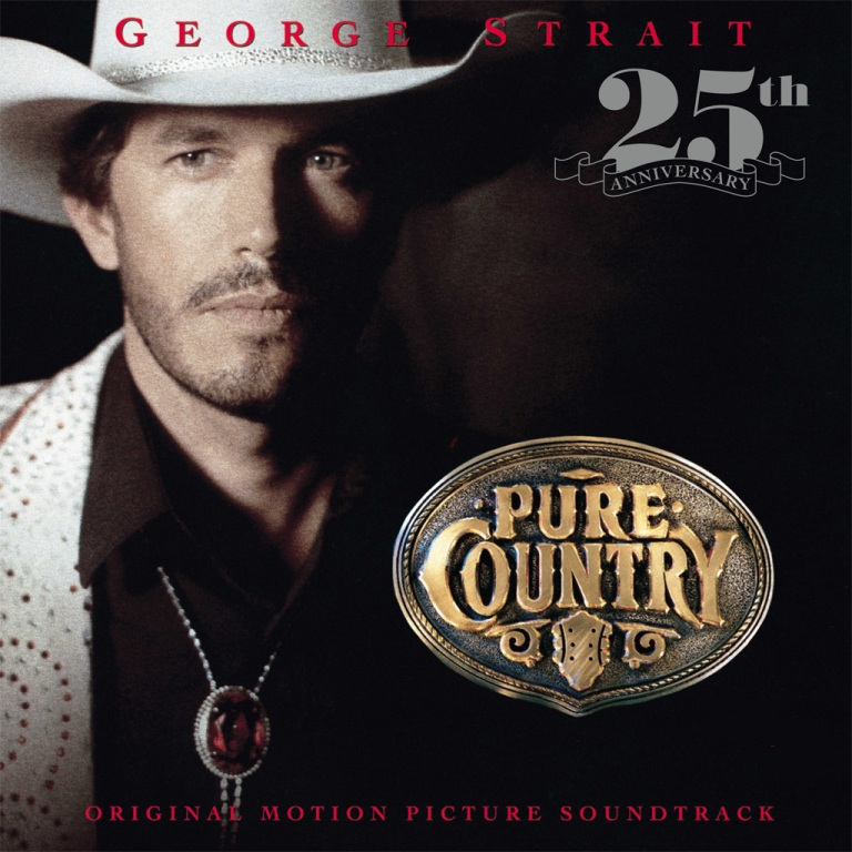 GEORGE STRAIT'S PURE COUNTRY TO BE RELEASED ON VINYL FOR FIRST TIME, SEPT. 15, 2017