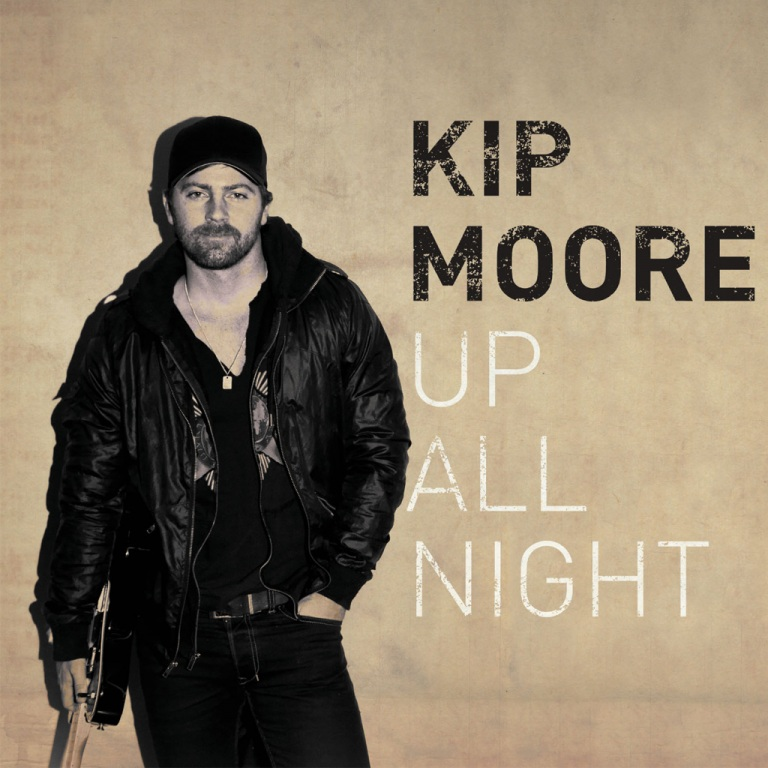 KIP MOORE'S BREAKOUT DEBUT ALBUM UP ALL NIGHT CERTIFIED PLATINUM BY RIAA