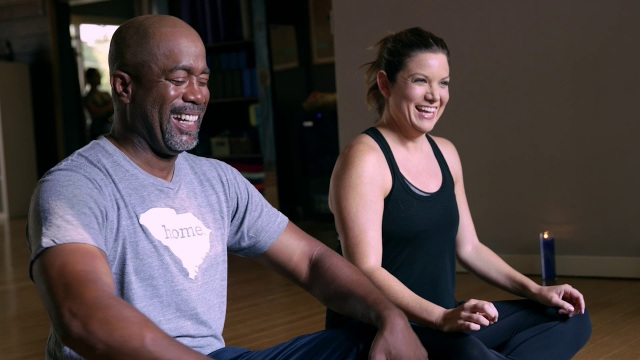 """Darius Rucker: For The First Time – Yoga Not """"Broga"""""""