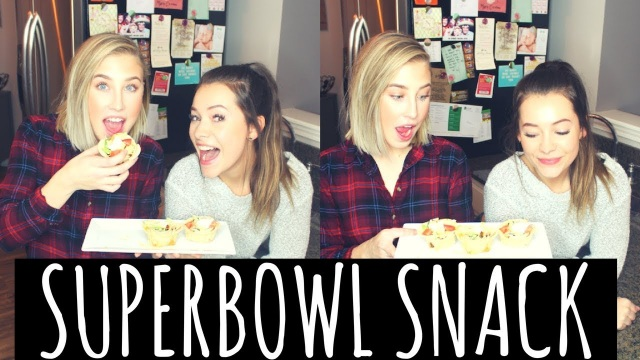 Maddie & Tae: Game Day Appetizer – Taco Cups